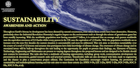 Sustainability – Awareness and Action